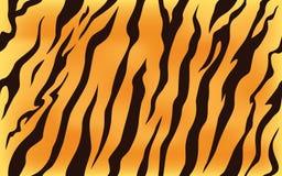 Stripe animals jungle tiger fur texture pattern seamless repeating orange yellow black. Print stock illustration