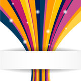 Stripe background. Vector illustration for your business presentations Royalty Free Stock Photos
