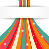 Stripe background. Vector illustration for your business presentations Stock Images