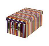 Stripe box Royalty Free Stock Photography