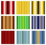 Stripe Design Background Vector Set Stock Photo