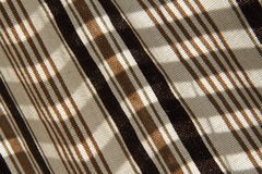 Stripe fabric detail Stock Photography