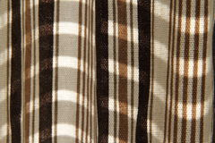 Stripe fabric detail Royalty Free Stock Photo