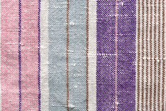 Stripe fabric texture Stock Image