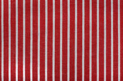 Stripe fabric texture Royalty Free Stock Photos