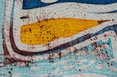 Stripe, handmade on silk, surrealism art. Stripe, hot batik, background texture, handmade on silk, abstract surrealism art stock photography