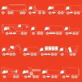 Stripe line trucks and giant vehicle Stock Photos
