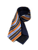Stripe Nave Necktie Stock Photo