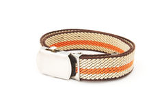 Stripe pattern belt Royalty Free Stock Photography