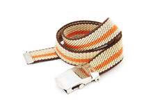 Stripe pattern belt Royalty Free Stock Image