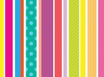 Stripe pattern with bright colors Royalty Free Stock Image