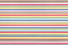 Stripe pattern paper Stock Images
