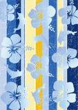 Stripe retro grunge background royalty free illustration