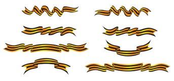 Stripe ribbon Royalty Free Stock Images