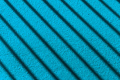 Stripe shadow on wall. Stripe shadow on arctic blue cement floor or cement wall stock photos