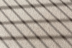 Stripe shadow on wall Royalty Free Stock Photos