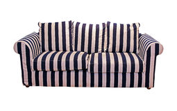 Stripe sofa Stock Photo