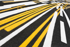 Stripe Test Tilted Royalty Free Stock Images