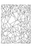 Striped абстрактное изображение вектора бесплатная иллюстрация