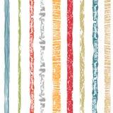 striped безшовное картины текстурированные нашивки Красочная абстрактная повторяя предпосылка творческая конструкция Стоковые Изображения