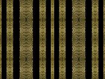 Striped богато украшенная безшовная картина Стоковая Фотография RF