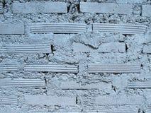 Striped выровнянный кирпич стены Стоковые Фотографии RF