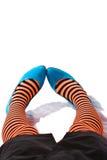 striped гетры Стоковые Фото