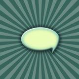 striped диалог предпосылки цветастый Стоковая Фотография RF
