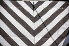 striped загородка Стоковое Фото