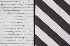 striped загородка Стоковая Фотография RF
