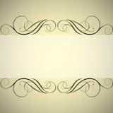 striped золотистое предпосылки Стоковое фото RF