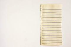 Striped лист белизны Место под текстом стоковое изображение