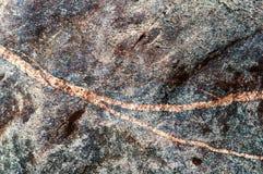 Striped камешек моря, другой цвет, булыжник стоковое фото