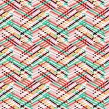Striped картина года сбора винограда шеврона бесплатная иллюстрация