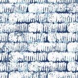 Striped картина с почищенными щеткой линиями Стоковая Фотография RF