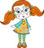 striped носки девушки Стоковое фото RF