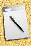 striped пер дневника бумажное Стоковые Изображения RF