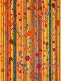 striped печать холстины цветастая Стоковые Изображения RF