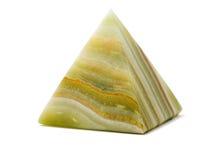 striped пирамидка onyx стоковые изображения rf