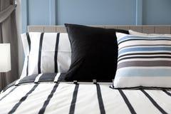 Striped подушка картины Стоковое Изображение RF