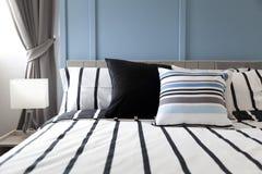 Striped подушка картины Стоковая Фотография RF