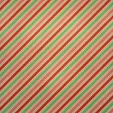 Striped покрасил рождество предпосылки Стоковые Изображения RF