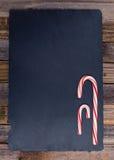Striped праздником тросточки конфеты Стоковые Изображения