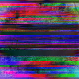 Striped предпосылка с некоторыми пятнами Стоковая Фотография RF