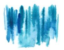 Striped пятно индиго грязное Стоковые Фотографии RF