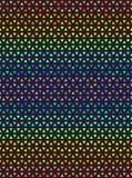 Striped радугой картина мозаики треугольника Безшовное backgro вектора иллюстрация штока