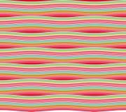 Striped развевал картина Иллюстрация штока