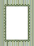 striped рамка предпосылки Стоковая Фотография RF