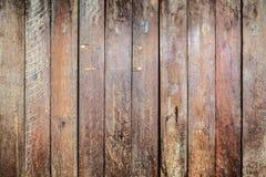 Striped древесина планки коричневого цвета картины wal Стоковые Изображения RF