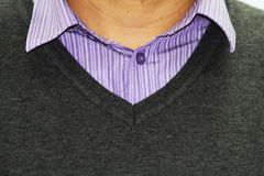 striped рубашка стоковое изображение